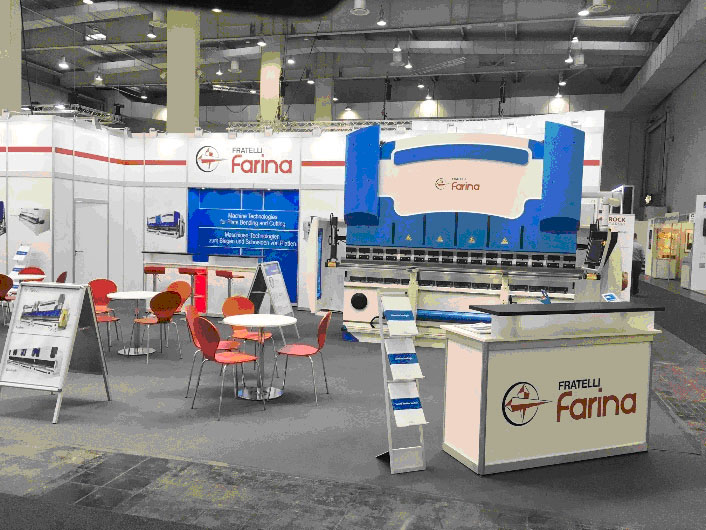 FRATELLI FARINA at the EuroBlech 2018